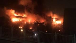 Пожар на Профсоюзной 30 января 2015