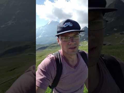 Hiking Swiss Alps   good times