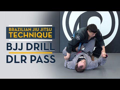 BJJ Drill - De La Riva (DLR) Guard Pass