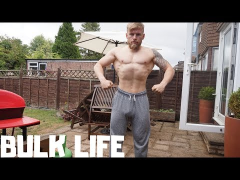ROAD TO THE 2019 BODYBUILDING STAGE - BULK LIFE.