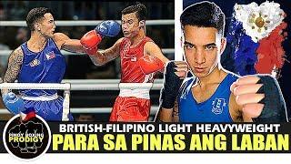 Pagkatapos ng OLYMPICS | Filipino-British Light Heavyweight BALAK pasukin ang Professional Boxing