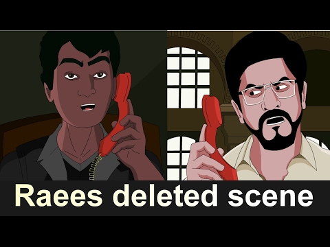 Raees | Deleted Scene | feat. shah rukh...