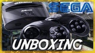"Unboxing + test Sega Mega Drive ""Classic Game Console"""