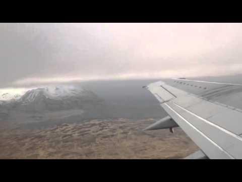 Flying away from Adak, Alaska