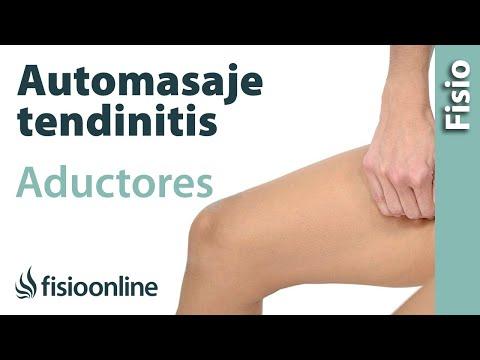 que es una tendinitis en pierna y muslo