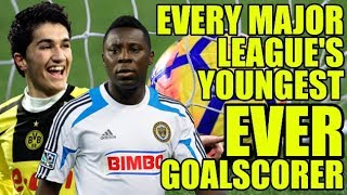 EVERY Major League's Youngest Ever Goalscorer