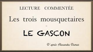 Урок французского языка. Lecture commentée. Le gascon.