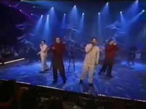 98 Degrees performs This Gift  on MTV, Ace Livingston