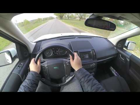 2015 Land Rover Freelander 2 2.2 TD4 4WD POV city and road test-drive