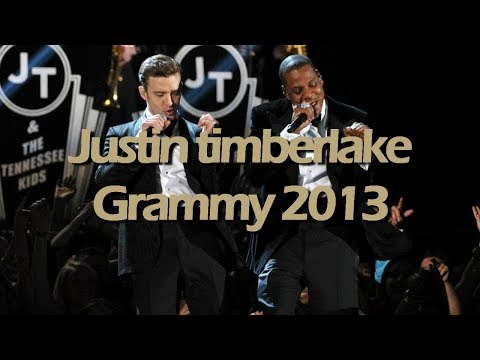 Justin Timberlake - The Grammy Awards 2013 HD