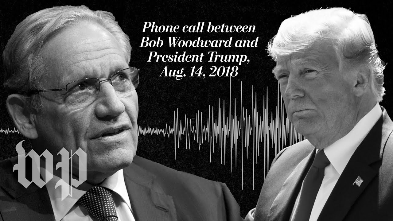 Exclusive Listen To Trump S Conversation With Bob Woodward