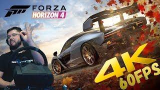 новая Forza Horizon 4 - ПОТРЯСАЮЩАЯ ГРАФИКА на Xbox One X в 4K 60FPS!!! Сравнение с Xbox One