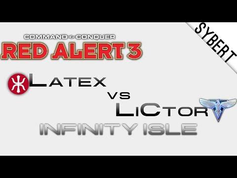 Latex[E] vs LiCtor[A] - Infinity Isle - Red Alert 3