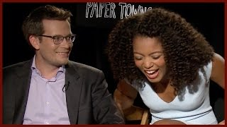 John Green & PAPER TOWNS CAST Talk PROM!