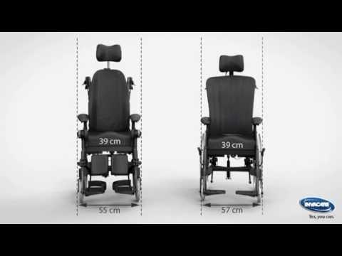 fauteuil de confort invacare rea dahlia