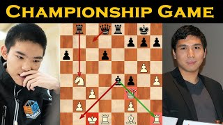 CHAMPIONSHIP GAME | WESLEY SO vs JEFFERY XIONG | US CHESS CHAMPIONSHIP 2020