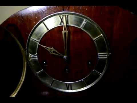 westminster antique mantel clock