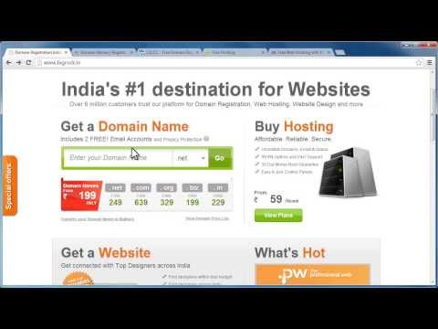 Buying your first domain &  hosting or just getting them free