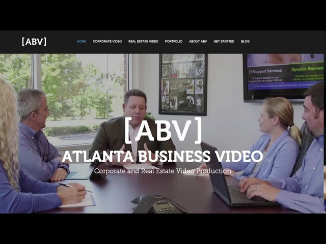 Website Video Banners with Atlanta Business Video