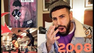 REACTING TO MY OLD BOXING MATCHES!!! (10 YEARS AGO) thumbnail