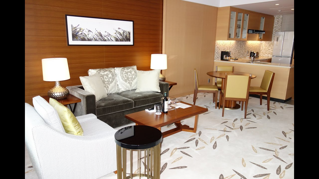 InterContinental Osaka e Bedroom Deluxe Residence Suite