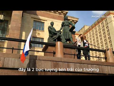 Lomonosov Moscow State University -the largest university in Russia |Travel in Russia ep5