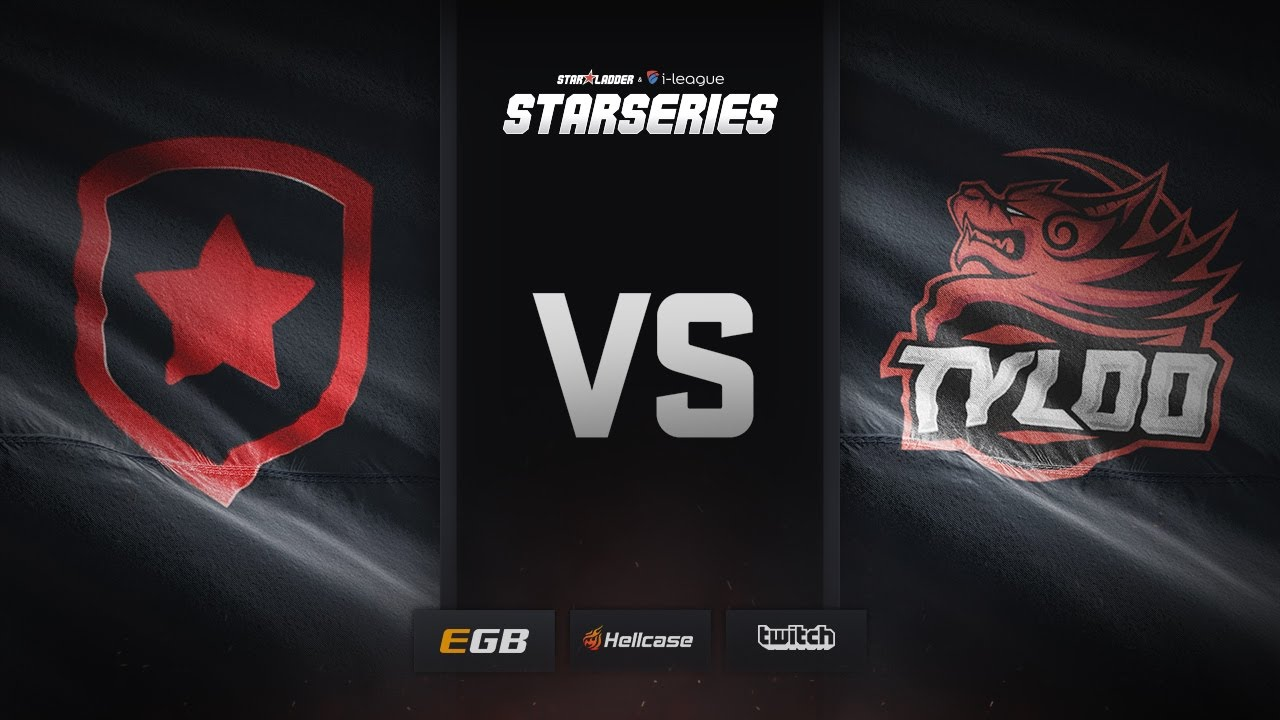 [EN] Gambit vs TyLoo, cobblestone, SL i-League StarSeries Season 3 Finals