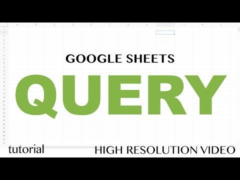 Google Sheets QUERY Function Tutorial - SELECT, WHERE, LIKE, AND, OR, LIMIT statements - Part 1