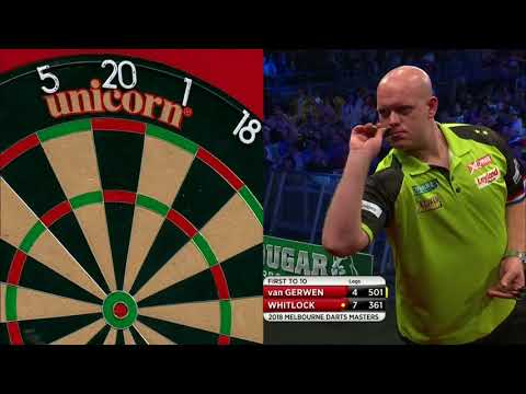 PDC Melbourne Darts Masters 2018 - Michael van Gerwen vs Simon Whitlock Part 2/2