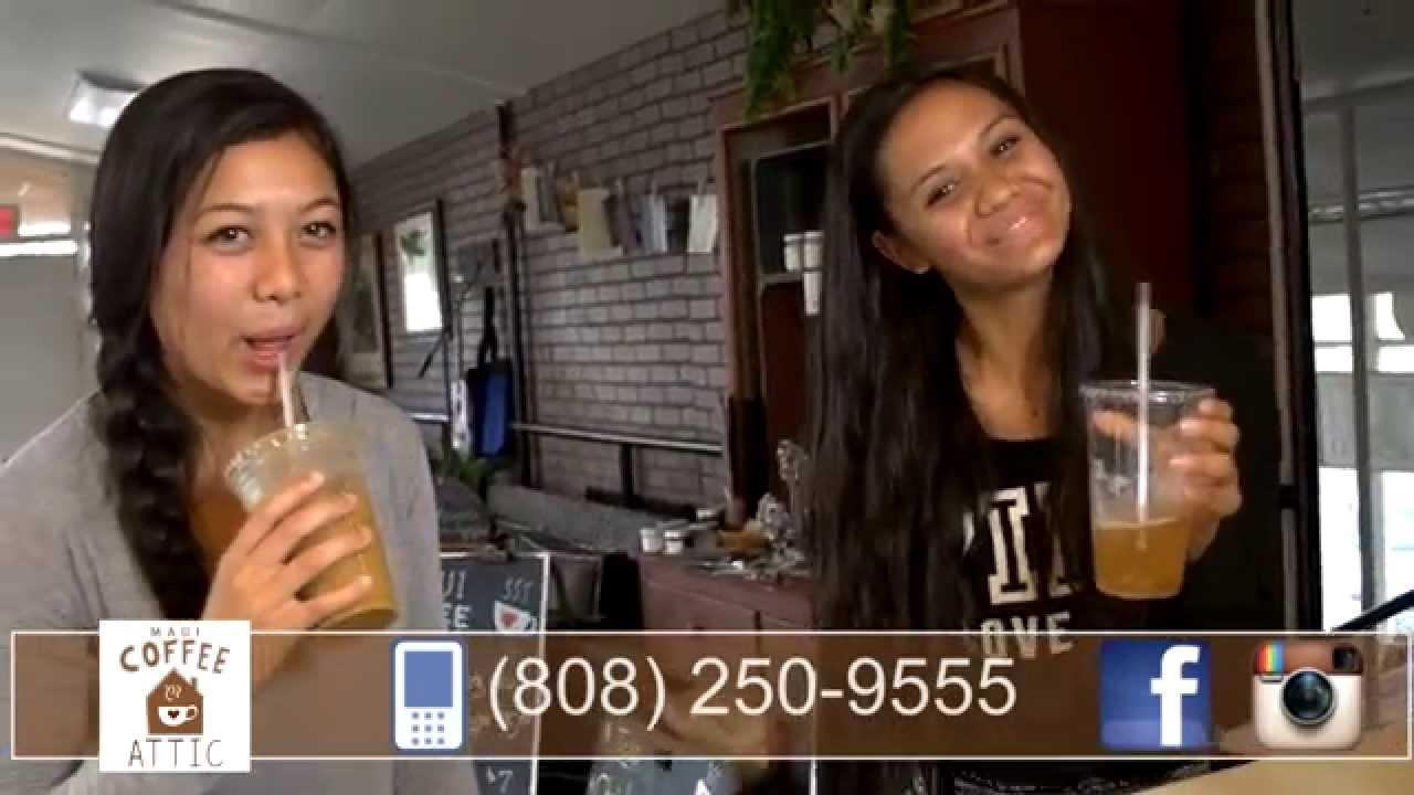 Maui Coffee 808 250 9555 Maui Coffee Attic Youtube