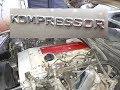 Mercedes Benz C230 Kompessor, Año 2000, W202, SONIDO DEL MOTOR y ESCAPE
