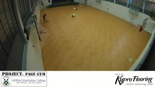 Project: HSC PAGE GYM / Kypro Sports Flooring