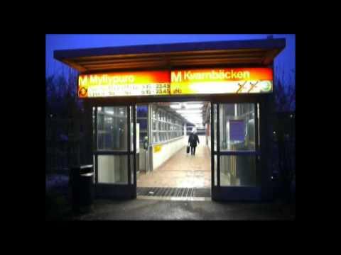 Myllypuro Metro Station / Helsinki, Finland