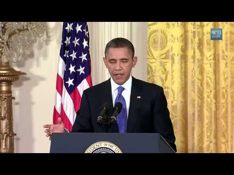President Obama u0027s News Conference on the American Jobs Act