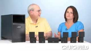 Bose Acoustimass Surround Sound Speaker Systems | Crutchfield Video