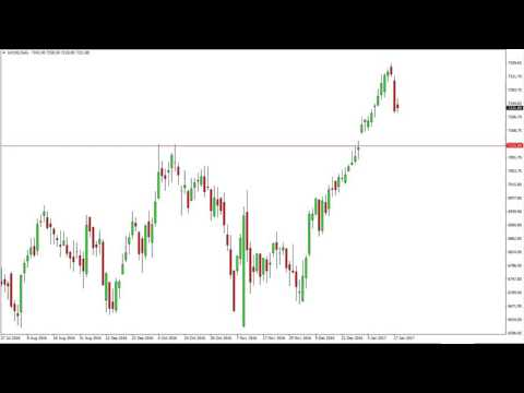 FTSE 100 Technical Analysis for January 19 2017 by FXEmpire.com