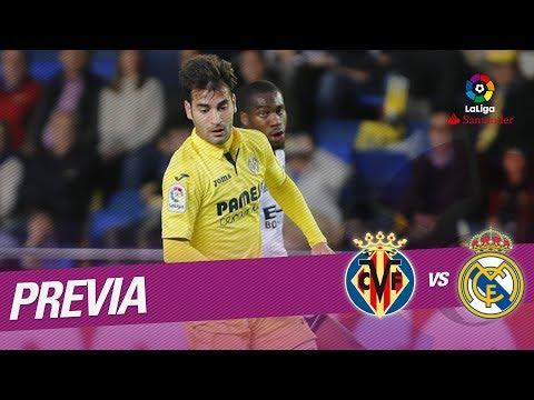 Previa Villarreal CF vs Real Madrid