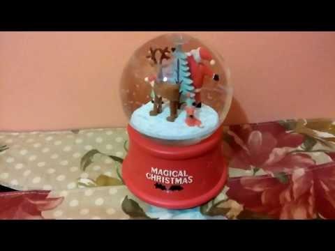 A Magical Christmas - Musical Christmas Snow Globe
