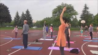Sunrise Yoga in the Park with Vidya Nahar