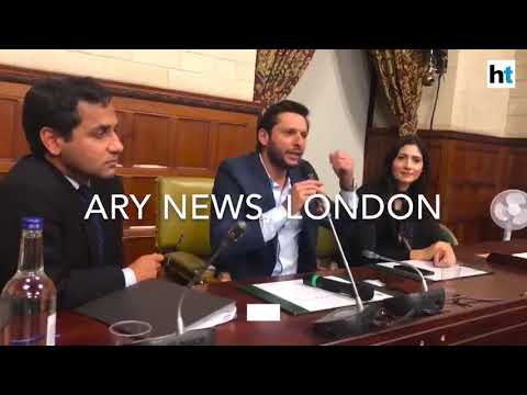 Watch: Shahid Afridi leaves Pakistan red faced with comments on Kashmir