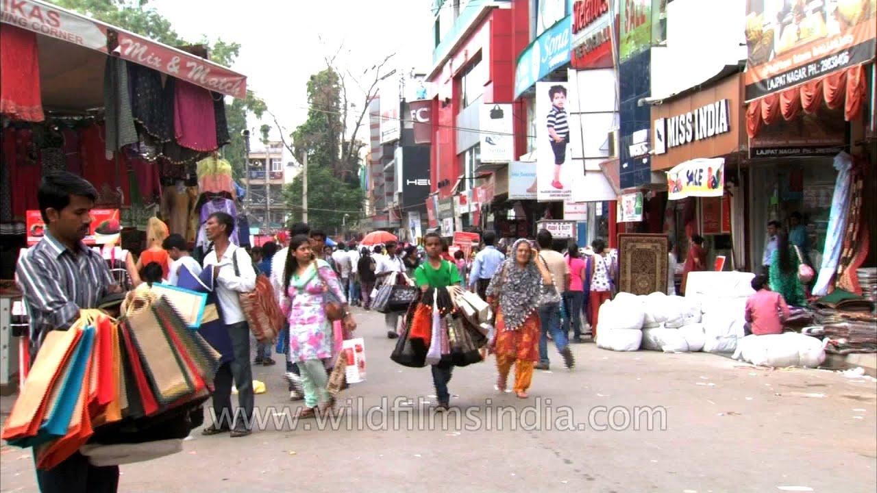 Lajpat Nagar Central Market Delhi