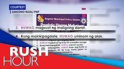 Women's groups demand Angono PNP to retract anti-rape post