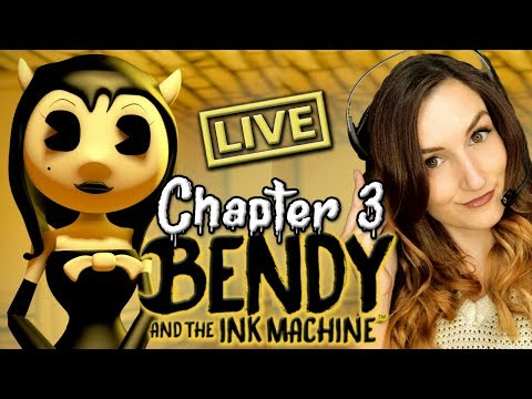 Bendy and the Ink Machine CHAPTER 3 (Full Gameplay - Alice Angel is Finally Here!!)