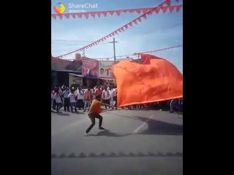 New shri ram sena long flag jai shri ram