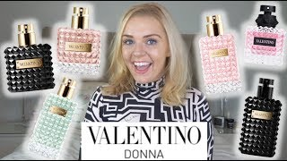 VALENTINO DONNA PERFUME RANGE REVIEW | Soki London