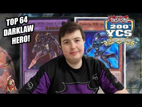Yu-Gi-Oh! Top 64 200th YCS Columbus: Dark Law Masked HERO Deck Profile 2018! Ft. Jesse Kotton (60)