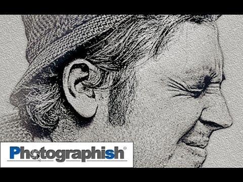 BLEISTIFT EFFECT -Photoshop Tutorial By Philipp Hebold-