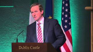 Taoiseach Enda Kenny - Driving The Future