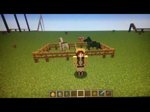 Minecraft How To Summon Tame Skeleton And Zombie Horses Also Skeleton Trap For