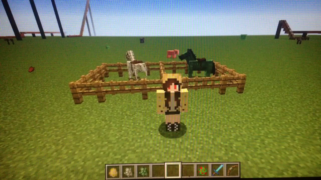 Minecraft, how to summon/tame skeleton and zombie horses (also a skeleton  trap) for 9.92